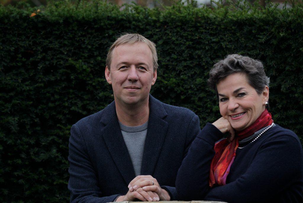 Tom Rivett-Carnac e Christiana Figueres.
